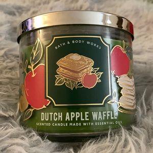 Dutch Apple Waffle Bath & Body Works candle